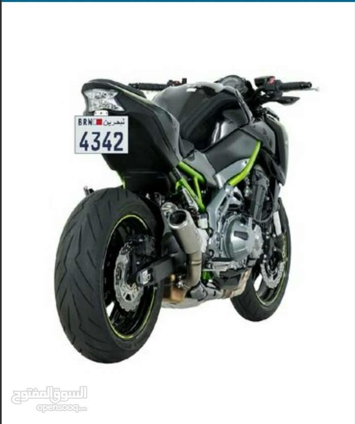 للبيع رقم دراجة نارية مميز *** 4342 ***