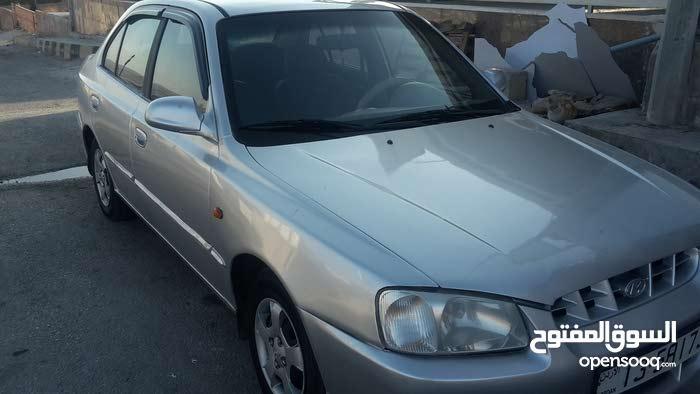 Silver Hyundai Verna 2001 for sale