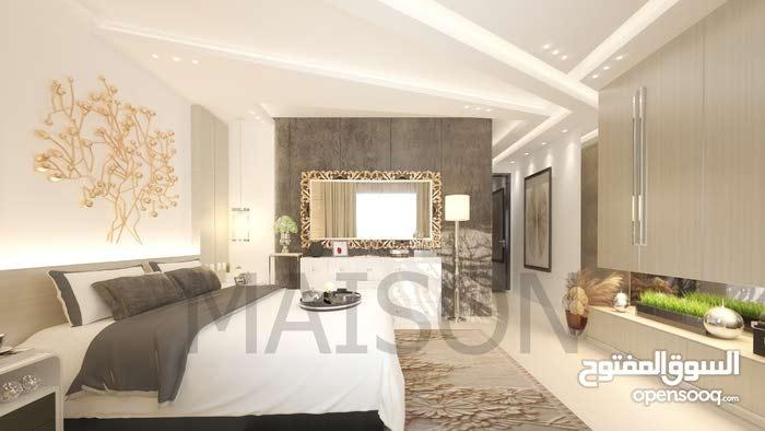 شقة اقساط في البنيات لمدة 45 شهر تشطيب فندقي ومن المالك شركة ميزون