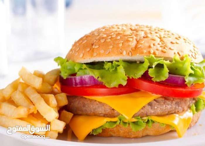 work at Burger Restaurant