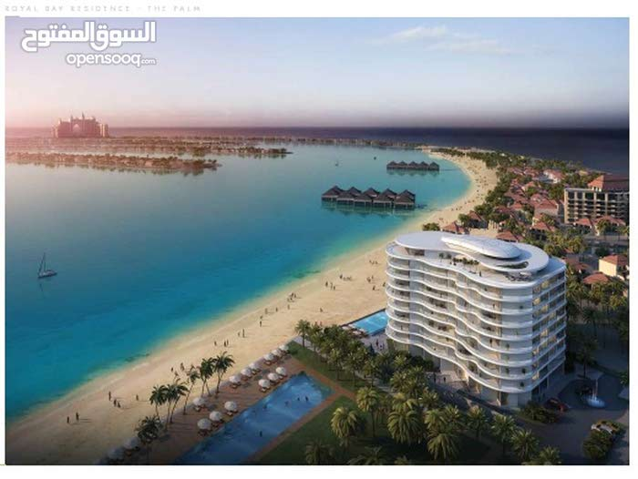 شقه فندقيه مفروشه بالكامل باطلاله بانوراميه خلابه على ساحل دبي الرائع