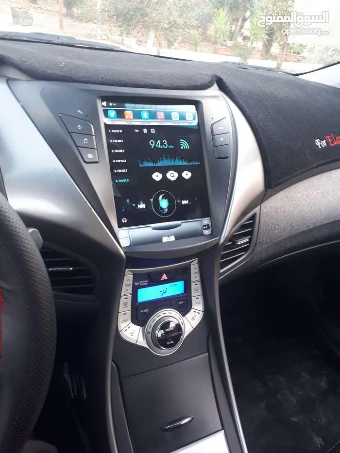 Silver Hyundai Avante 2012 for sale