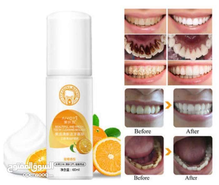 رغوة  تبييض الاسنان من Alvoye