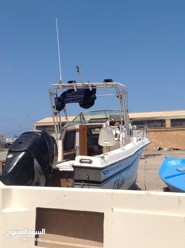 قارب امريكي طوله 7 متر مع محرك 250 ميركوري VERADO فورستروك