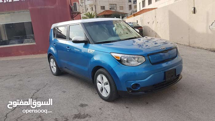 Blue Kia Soal 2015 for sale