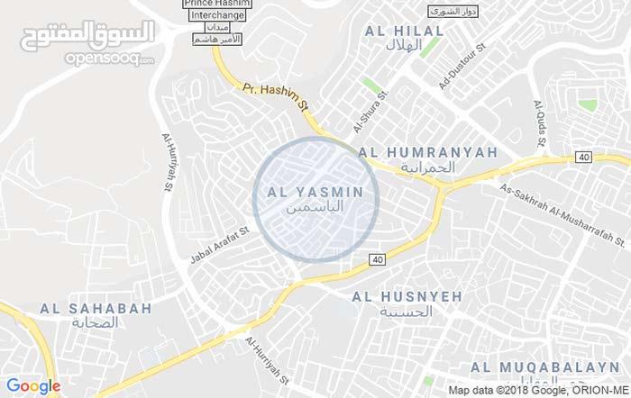شقة طابق ثالث مساحة 183م للبيع/ حي الصحابة _ رجم عميش 5