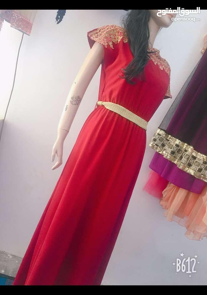 فستان خام قطن
