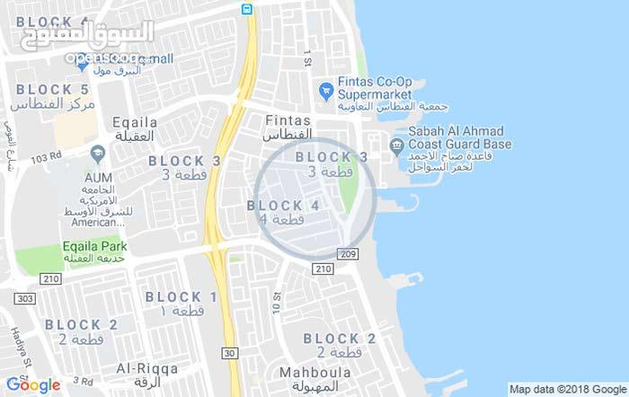 Fintas neighborhood Al Ahmadi city - 400 sqm house for rent