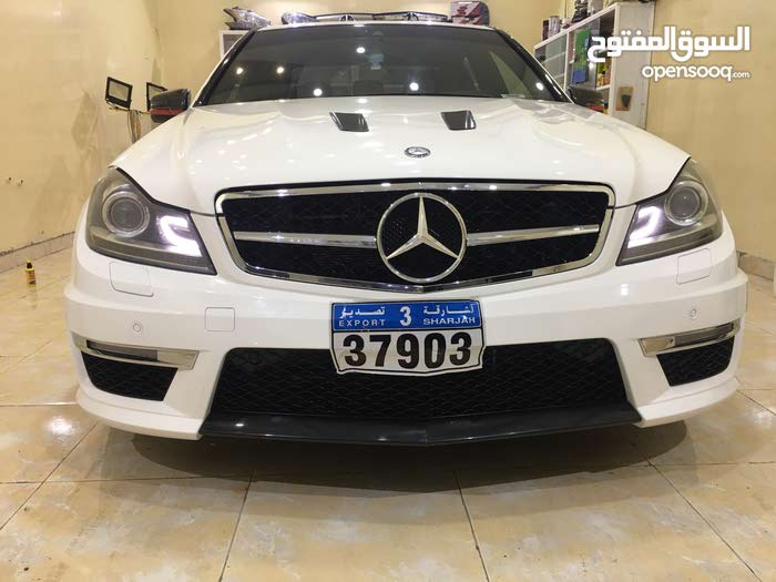 White Mercedes Benz C 300 2014 for sale