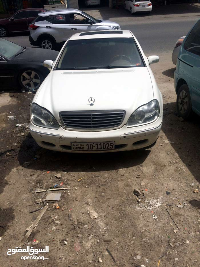 Mercedes Benz S 320 2002 For sale - White color