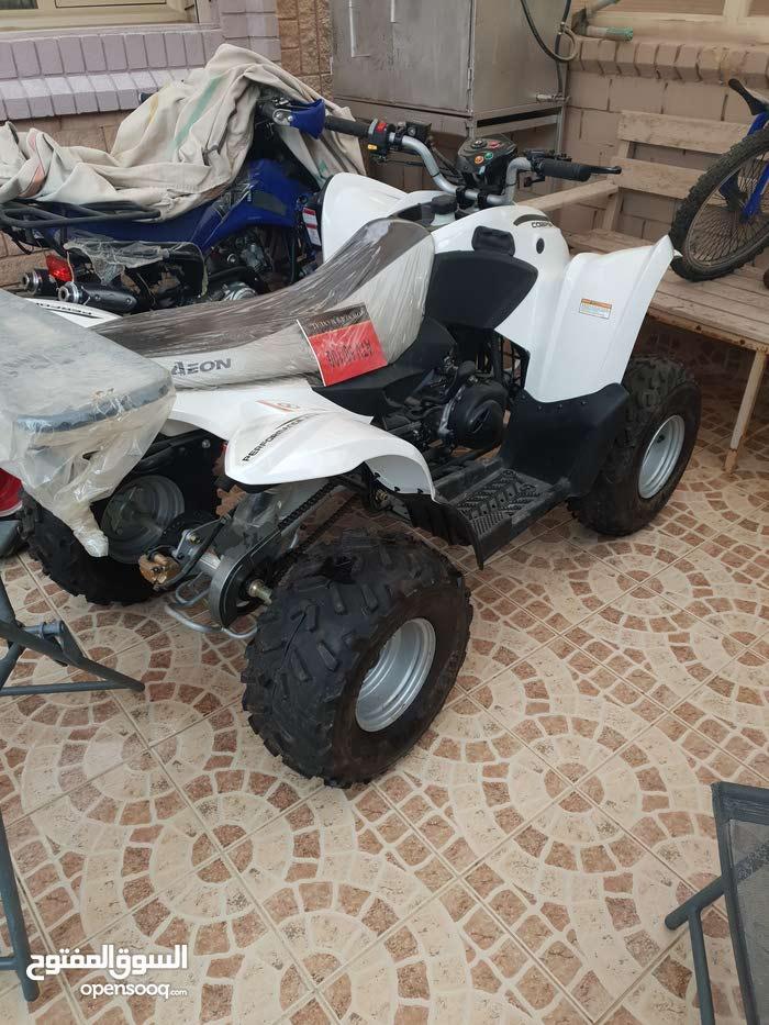 New Kawasaki motorbike up for sale in Al Ahmadi