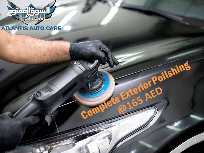 Exterior Polishing with affordable price @ just 165AED