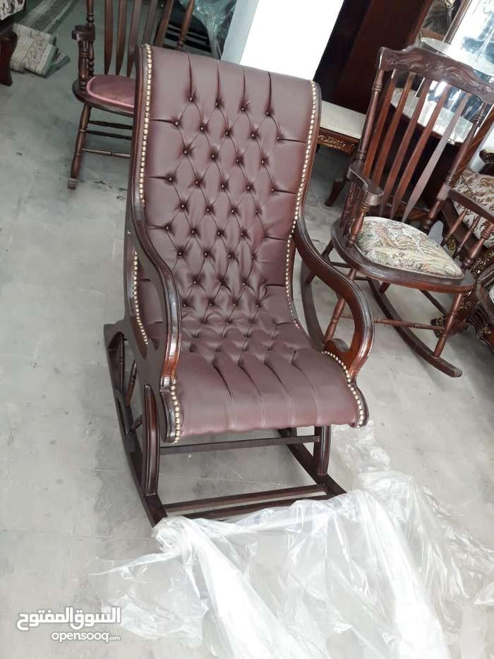 كرسي هزاز خشب زان شازلونج