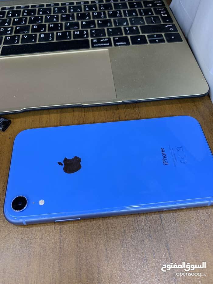 ايفون XR للبيع لون ازرق 128 كيكا