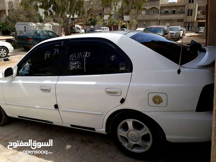 For sale Hyundai Verna car in Benghazi