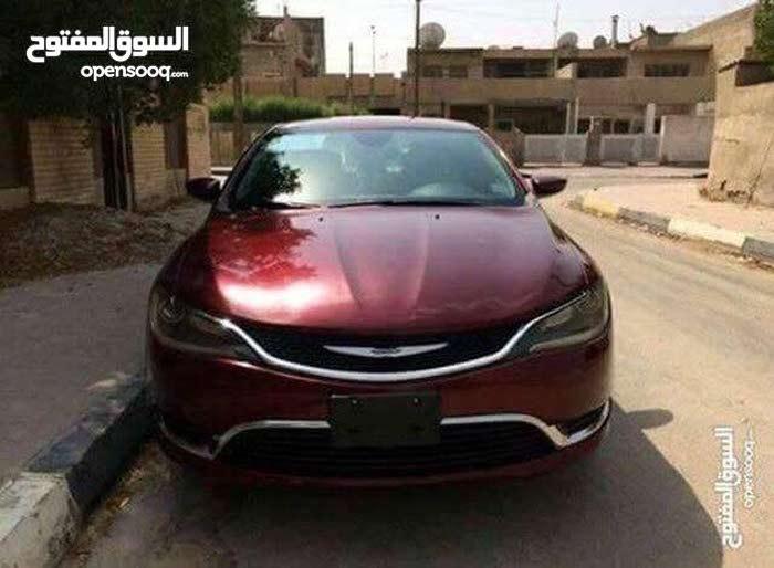 2015 Chrysler 200 for sale in Basra