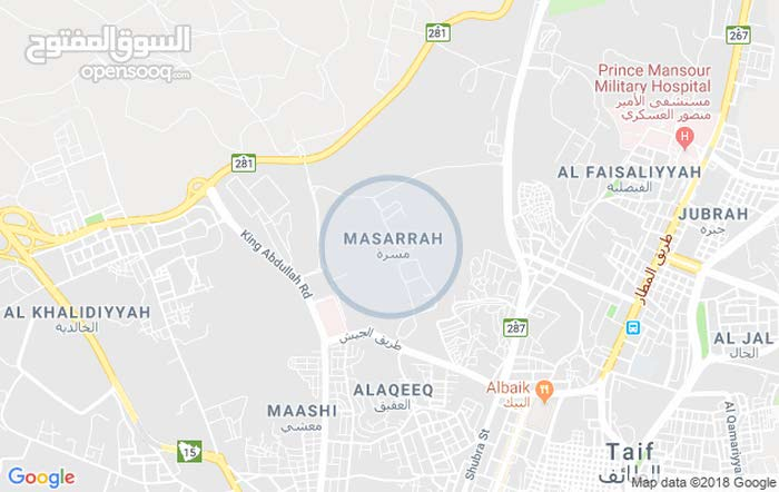Best price 600 sqm apartment for rent in TaifMasarah