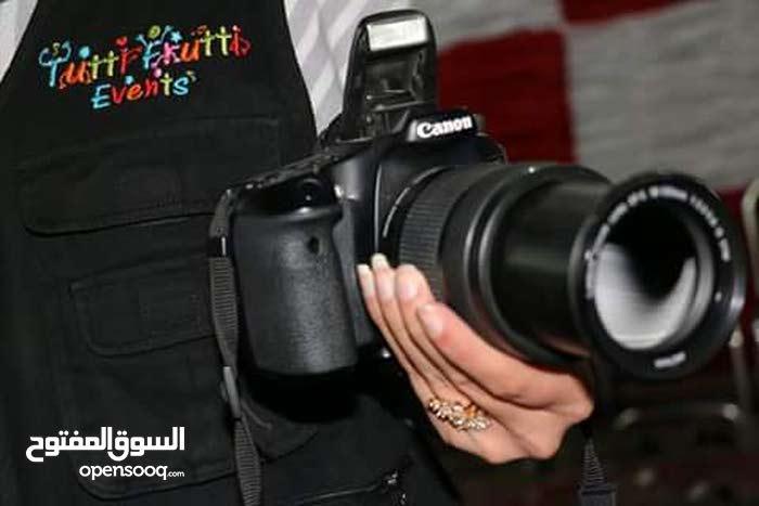 تصوير بأحدث كاميرات الديجيتال لجميع الحفلات