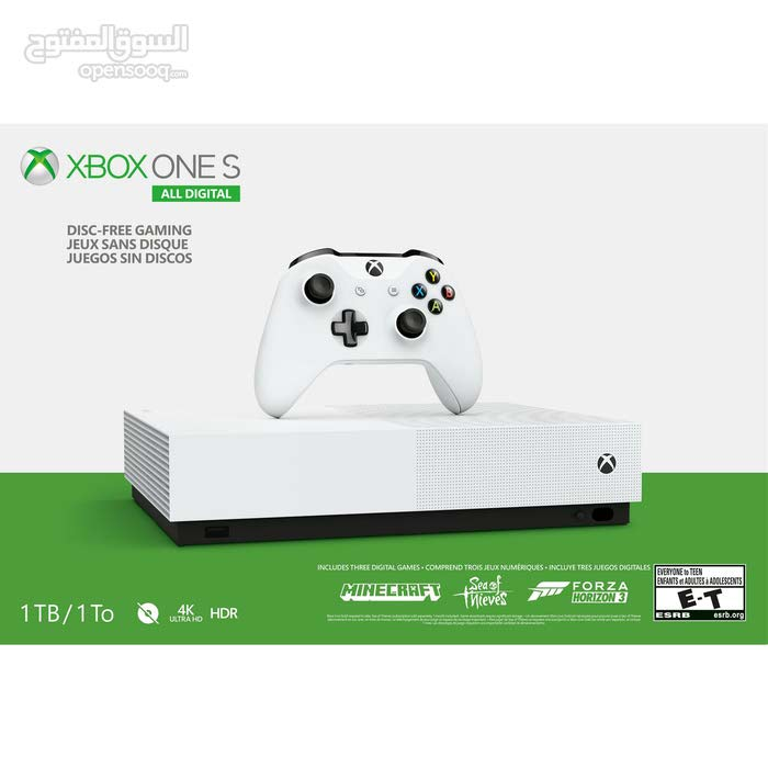 Used Xbox One S for sale with high specs and add ons