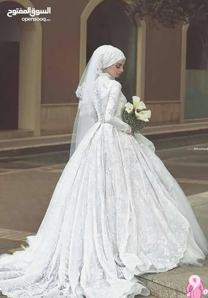 فستان عروس ابيض فرنسي 2017