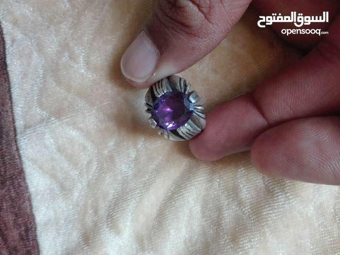 خاتم من حجر الجمشت