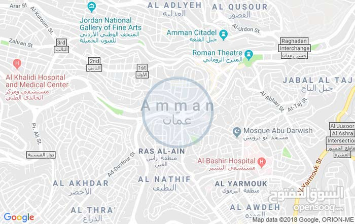 أرض مميزة جداً للبيع مساحة 9دونمات و378م/ ام الرصاص 4