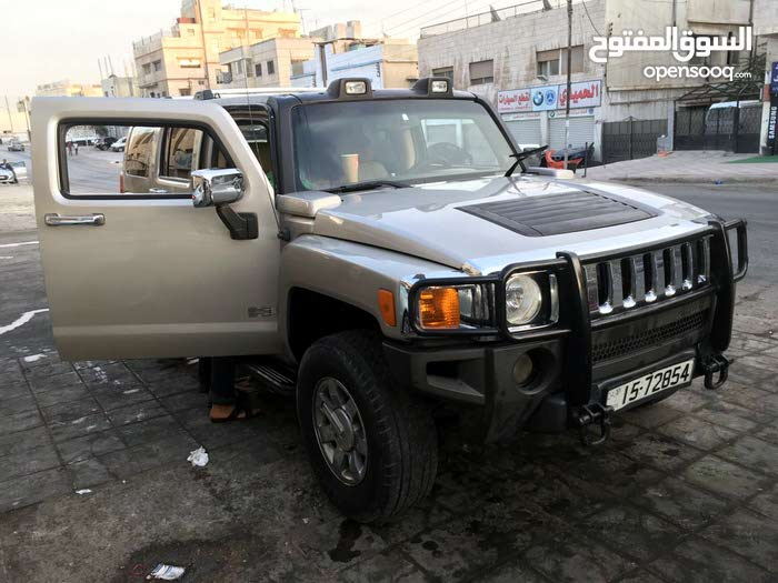 Used Hummer H3 for sale in Amman