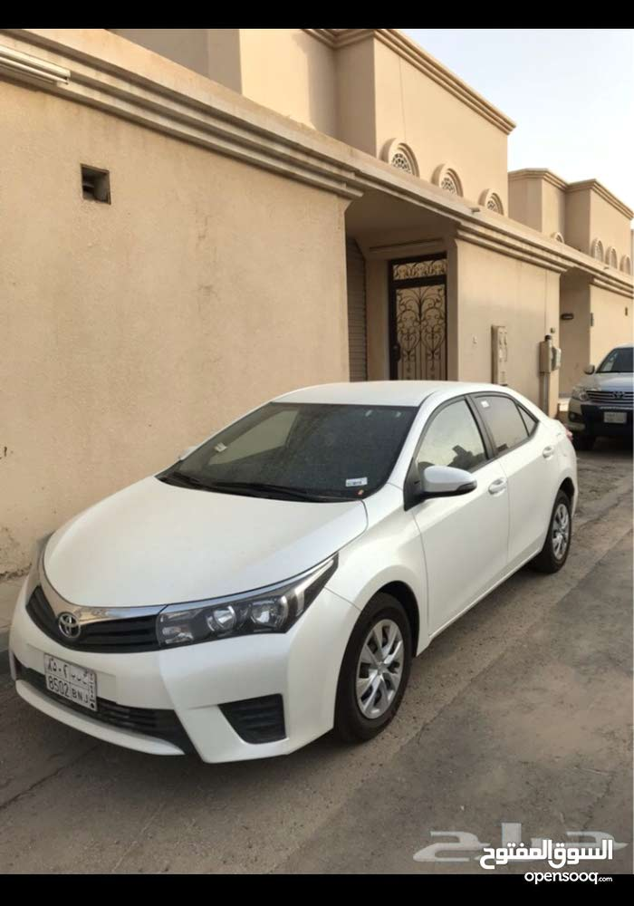 Per Year rental 2015AutomaticCorolla is available for rent