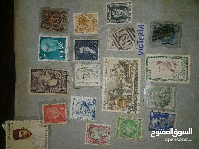 طوابع بريدية نادرة
