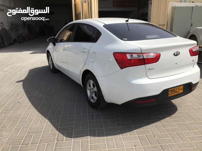 Kia Rio 2014 For sale - White color