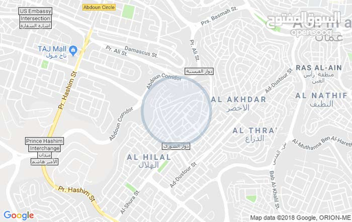 Apartment for sale in Amman city Hai Nazzal