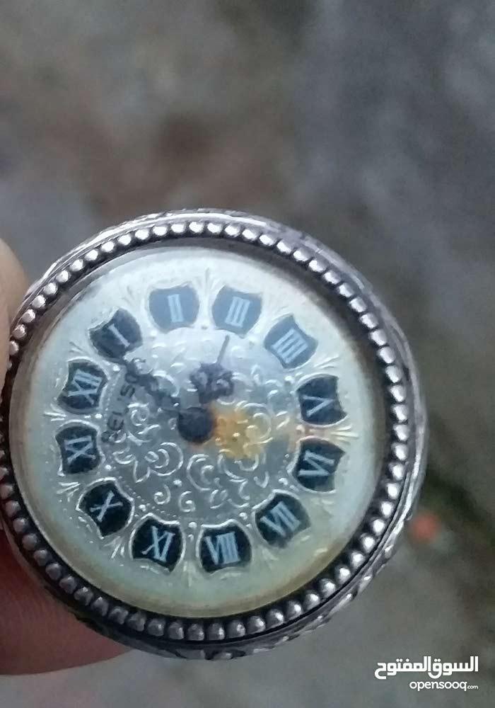 ساعة الجيب قديمة من الفضة من نوع belison