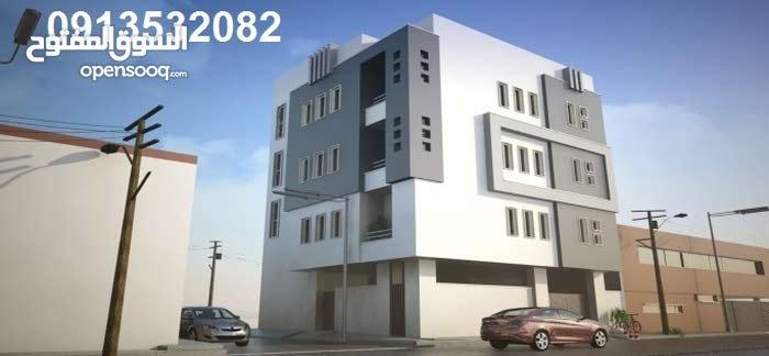 Ground Floor  apartment for sale with 2 rooms - Tripoli city Al-Hadba Al-Khadra