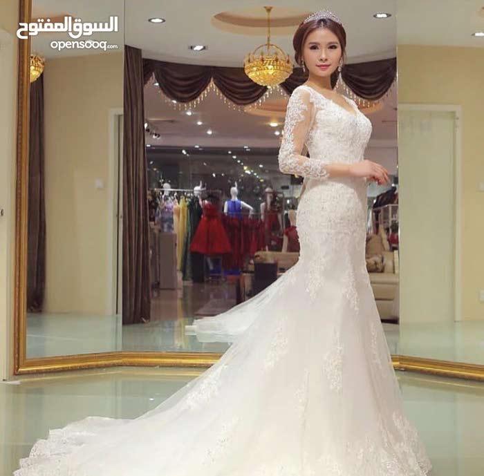 للبيع فستان زفاف جديد غير ملبوس، بسعر 180 ريال قابل للتفاوض