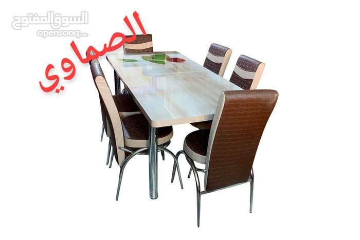 احدث موديلات طاولات السفرة التركية 175د فقط شامل التركيب والتوصيل