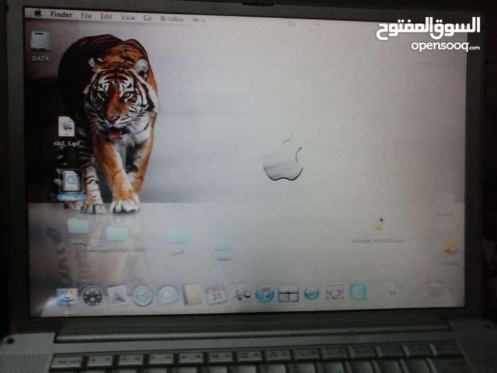 ابل G4 17  بوصه سلفر \كارت ati \لعشاق التميز والرقى Apple