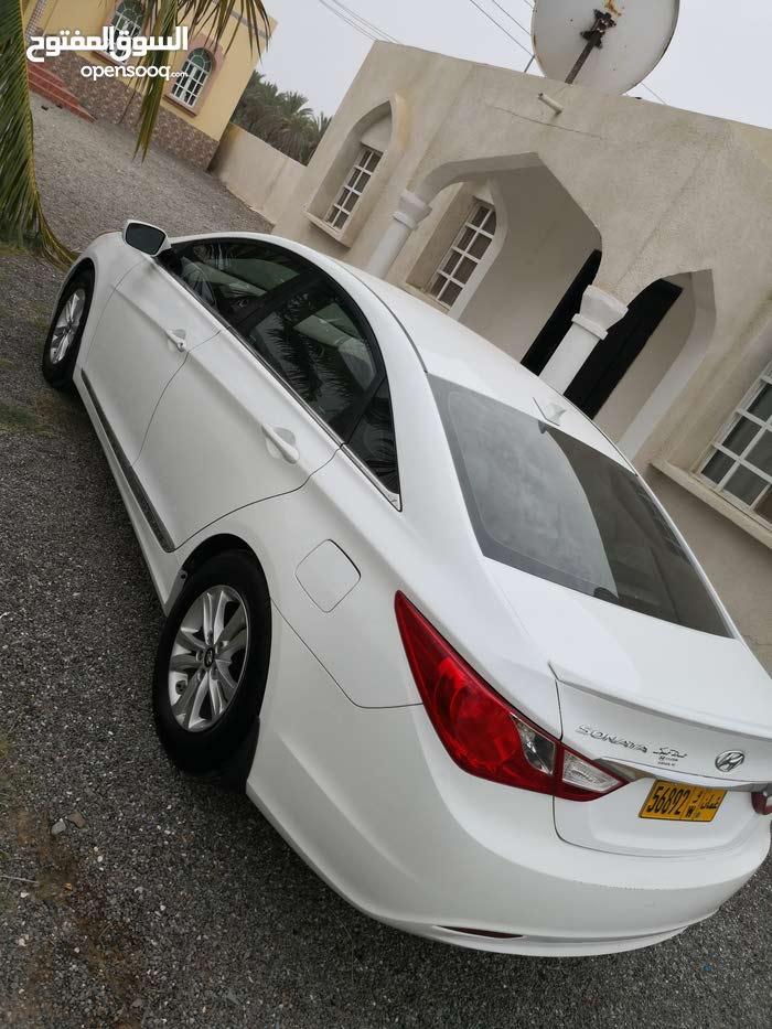 Hyundai Sonata 2013 For sale - White color