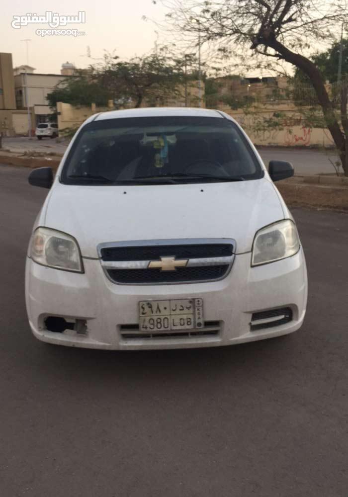 White Chevrolet Aveo 2010 for sale