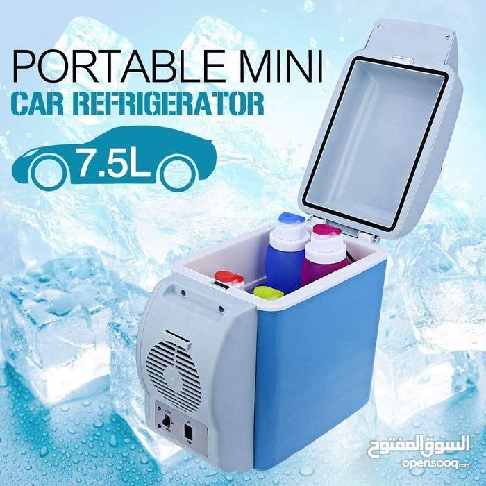 ثلاجة السيارة المحمولة سعة 7.5 لتر