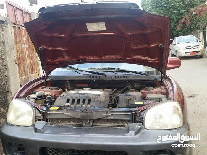 سياره سنتافي نظيف 2004 اربعه بستون