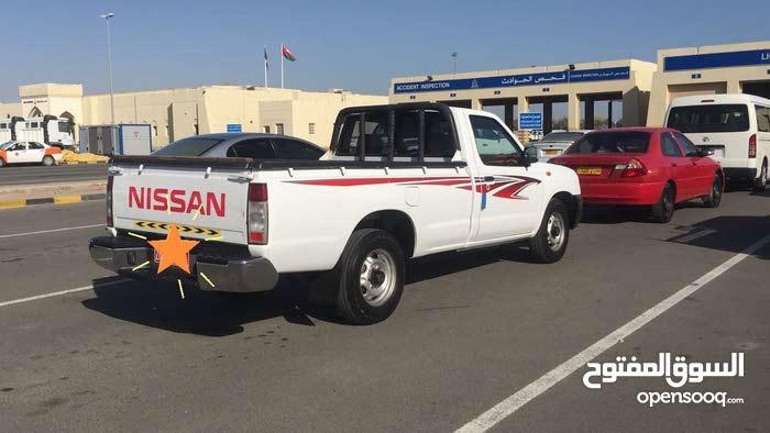 White Nissan Datsun 2015 for sale