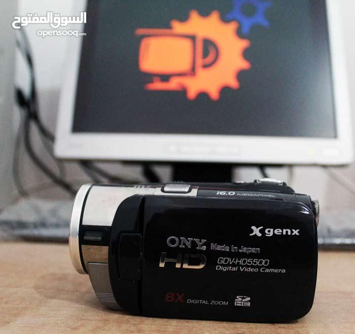كاميرا فيديو HD احترافية وتصوير ثابت