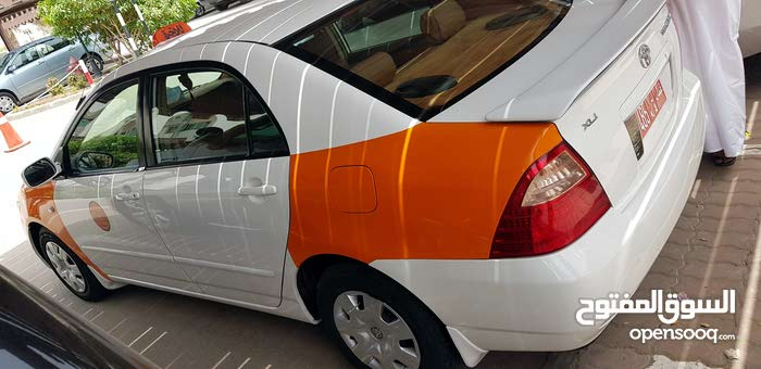 للبيع  تويوتا كورولا موديل 2005تكسي  بدون رقم مطلوب 1700 قابل للتفاوض