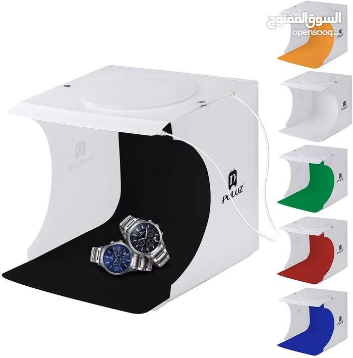 صندوق تصوير المنتجات بعدة ألوان