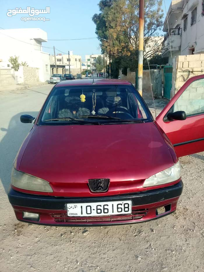 Maroon Peugeot 306 1998 for sale