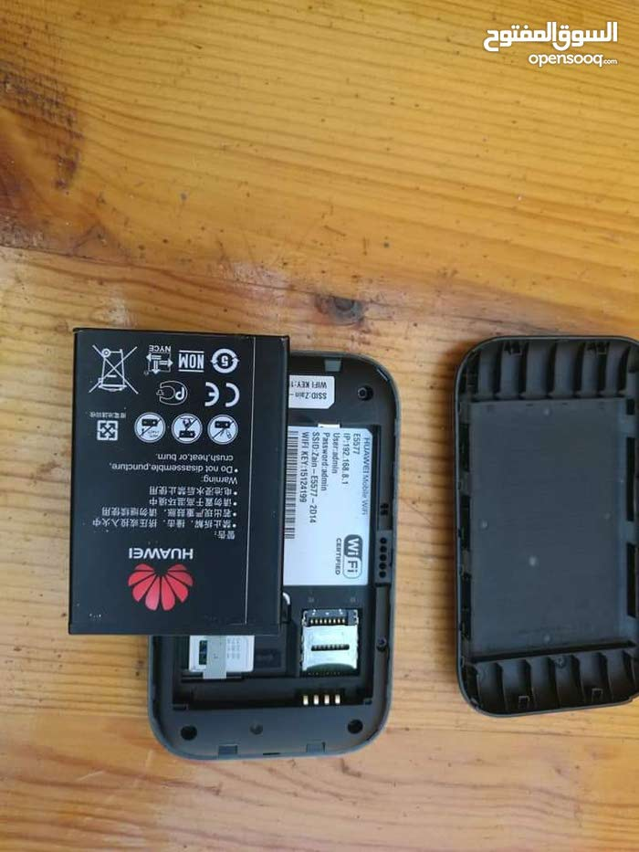 وايفاي 4G-LTE موديل 5577s-321 يعمل علي كل ترددات الشبكات  3G و4G مستعمل بحاله مم