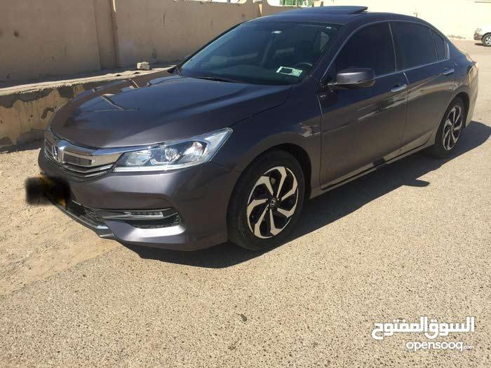 Honda Accord 2016 For sale - Grey color