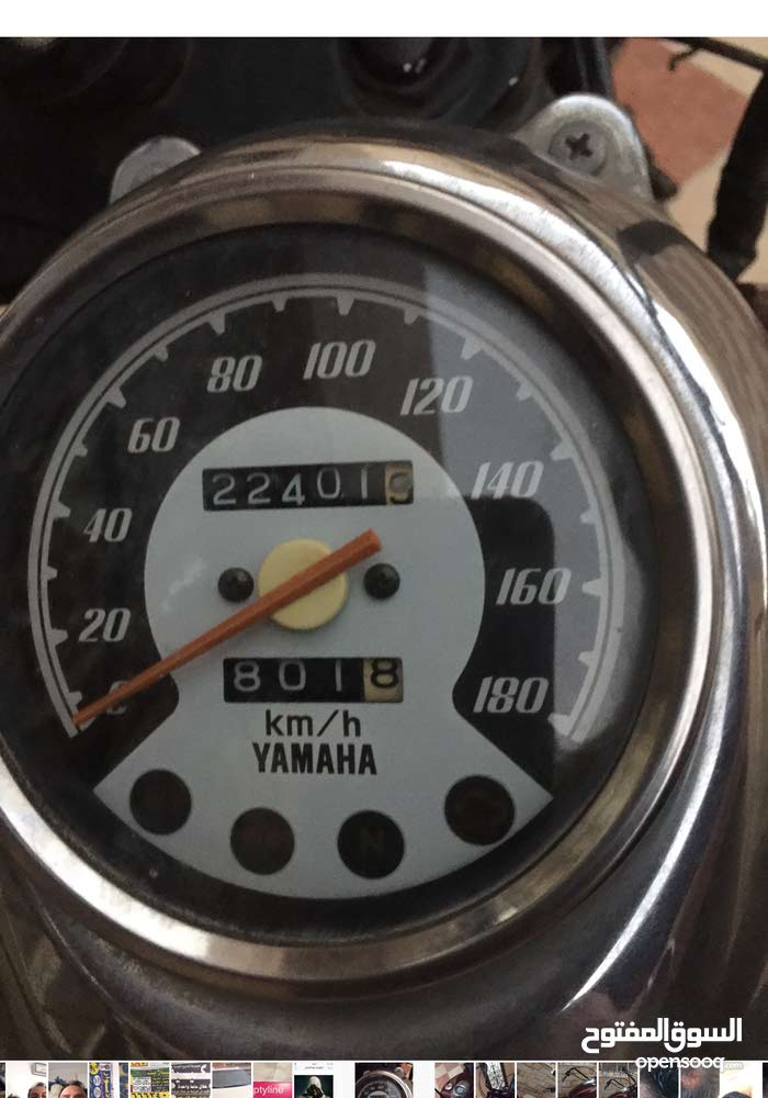 Yamaha of mileage 20,000 - 29,999 km available