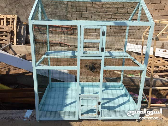 قفص جديد للبيع متر ب متر ب 65 سم قرب تقاطع الكزيزة