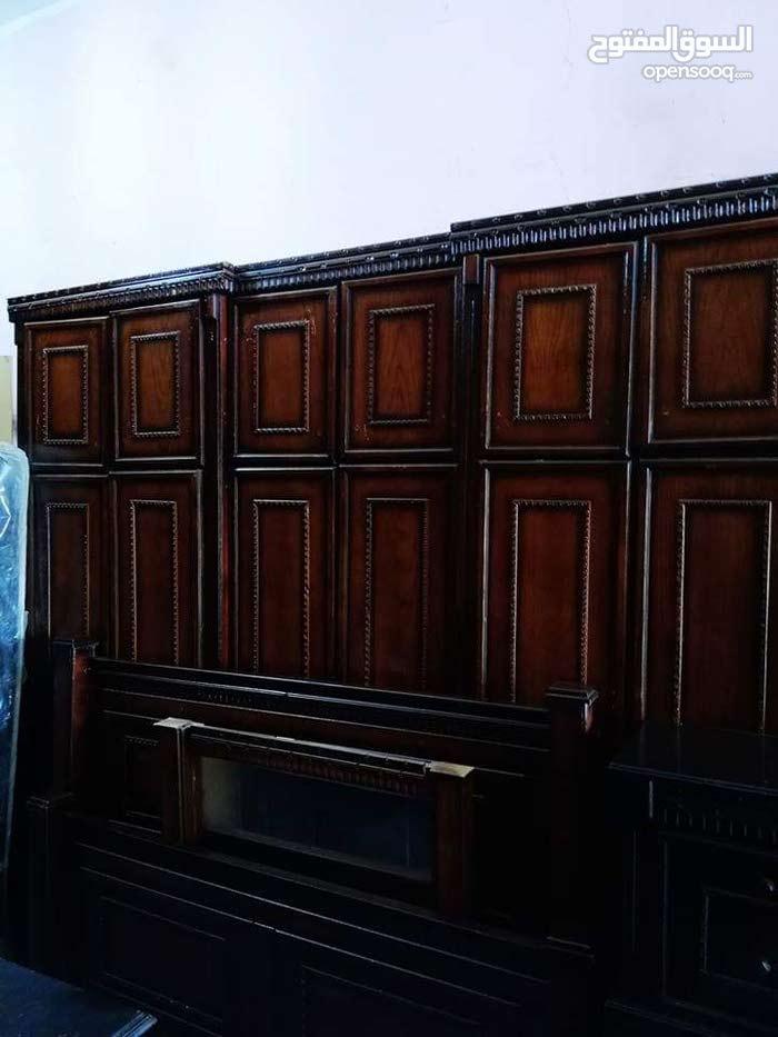 غرفة نوم خشب بلوط تفصيل وليس تجاري